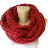 Knit Scarf Winter Scarf Women Knit Infinity Scarf by ...