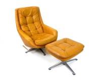 Items similar to Mid Century Modern Overman Swedish Lounge ...