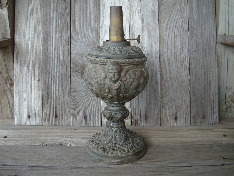 Items Similar To Kosmos Brenner Angel Oil Lamp On Etsy