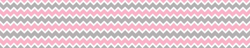 Wallpaper Border For Girl Nursery Pink Grey Gray Chevron Wallpaper Border Wall By Decampstudios