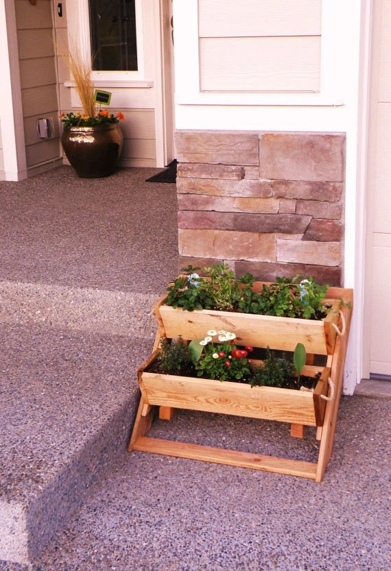 Garden Kit 2 Planter Sys 24 Wide Wall Raised Bed