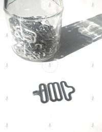 25 50 Bow Tie Hardware Necktie Adjustable NICKEL Hook Eye ...