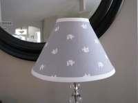Grey Elephant Lamp shade