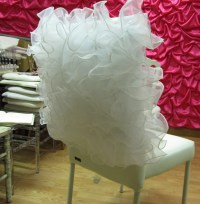 Items similar to Wedding chair cover, fancy chair cover ...