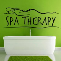Spa Wall Decals Spa Therapy Words Spa Stones by ...