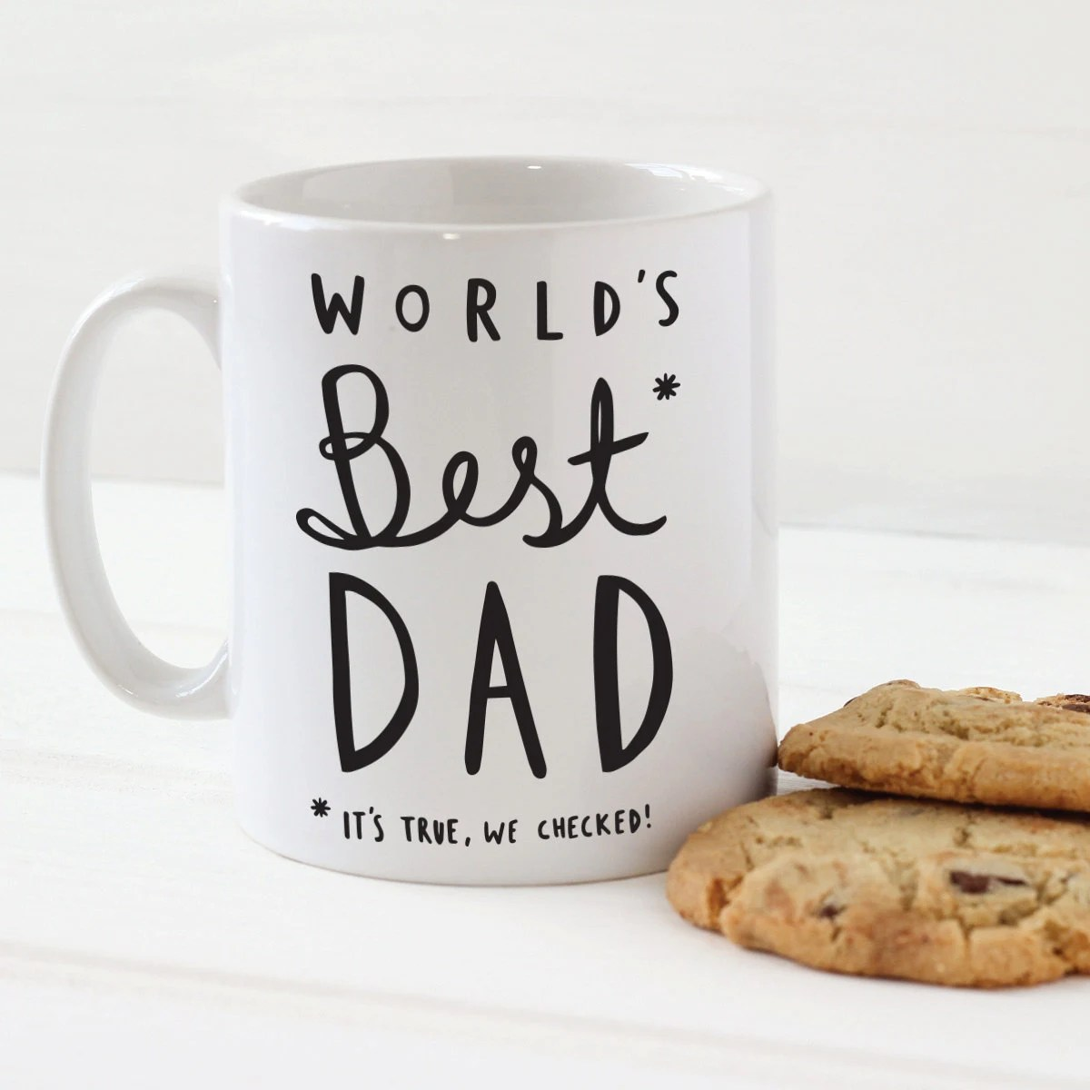 Koffiemok To Go World 39s Best Dad Mug Stylish Ceramic Mug For Dad