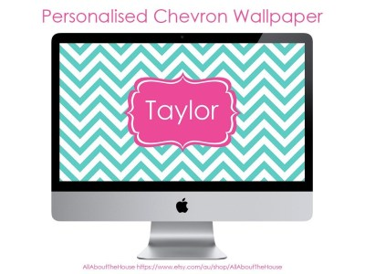 Monogram Wallpaper Desktop Background Laptop by AllAboutTheHouse