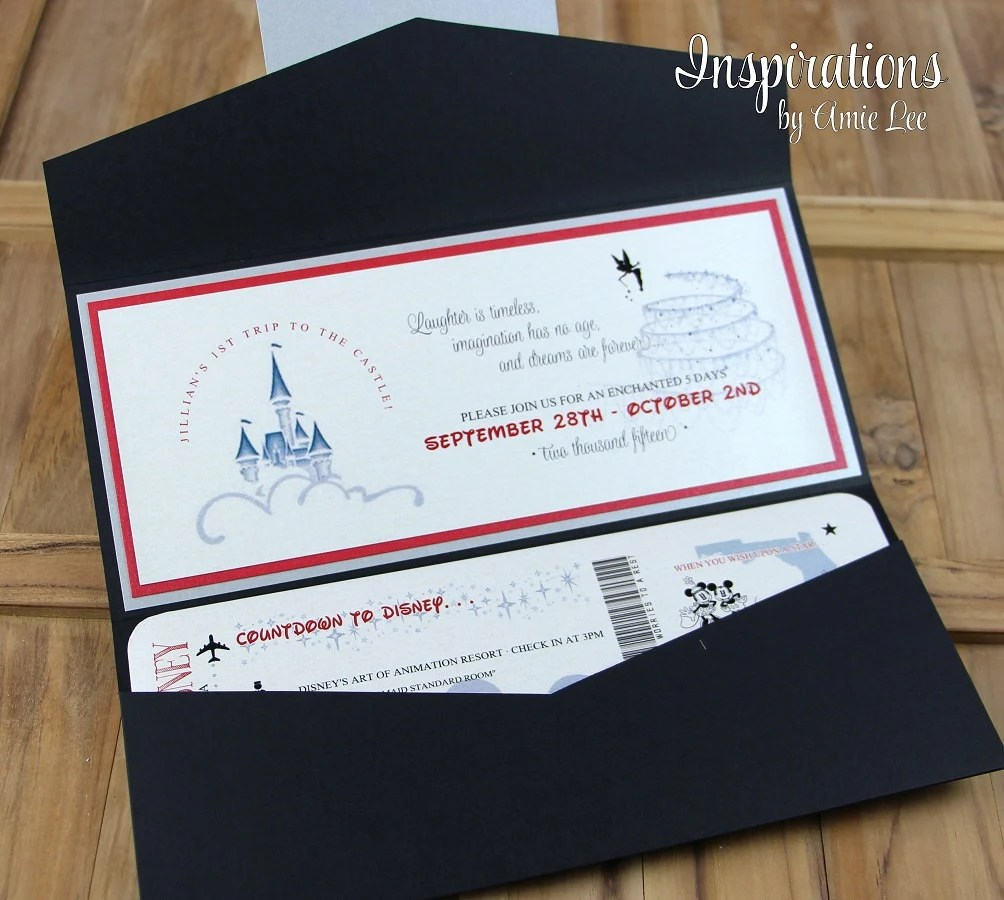 boarding pass wedding invitation wedding invitations Disney Wedding Invitations Disney Boarding Pass Wedding Invitations