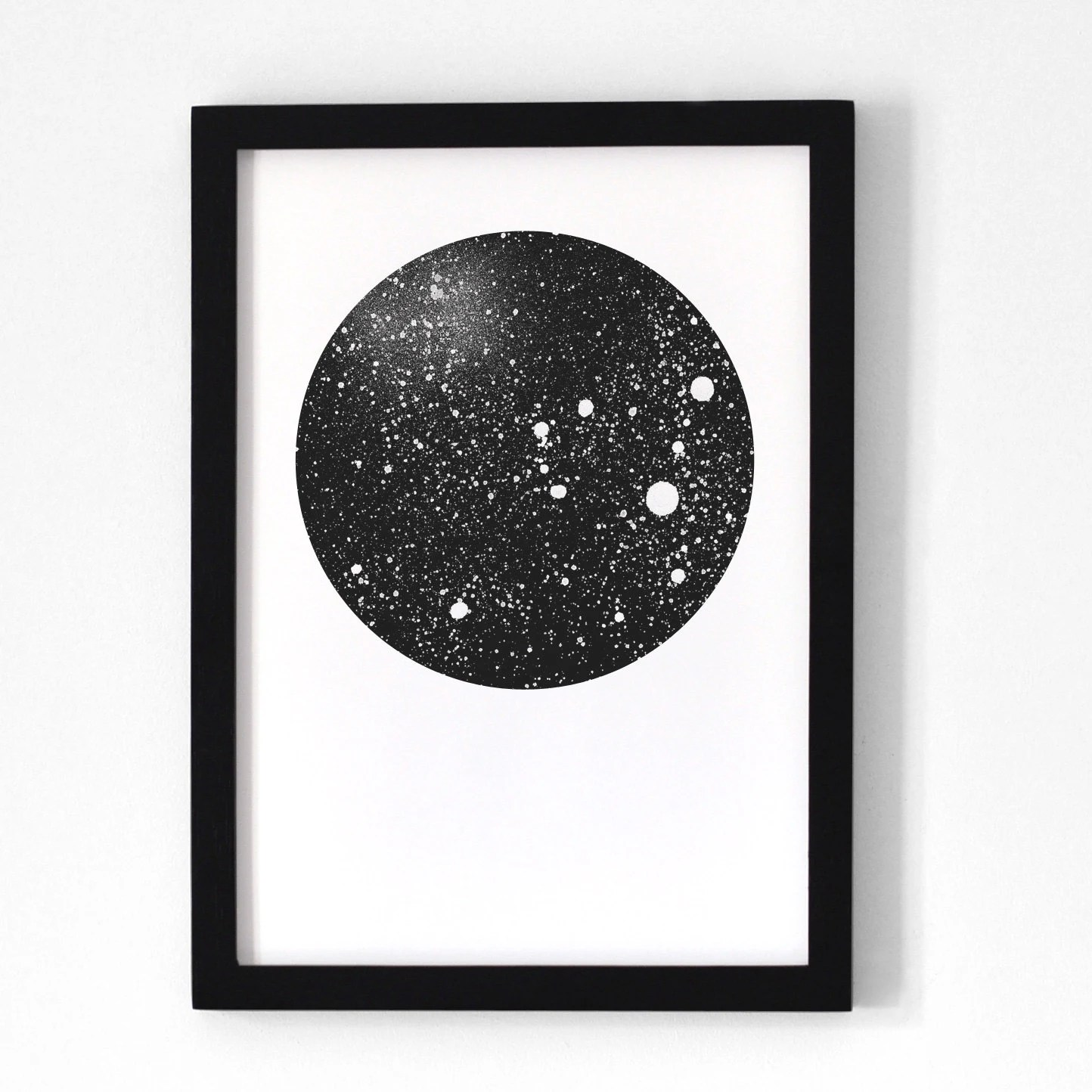 Poster 30x40 Moon / Poster 30x40 Cm By Oelwein On Etsy