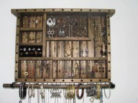 Jewelry Box Wall Hanging by BlackForestCottage on Etsy