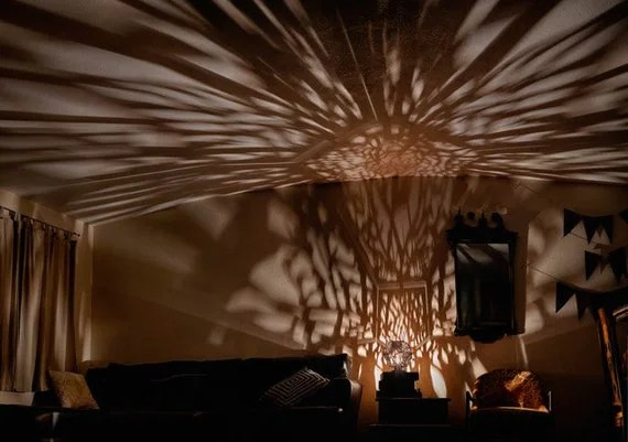 Tree Shadow Lamp