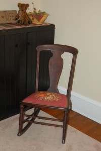 Antique Needlepoint Chair | Antique Furniture