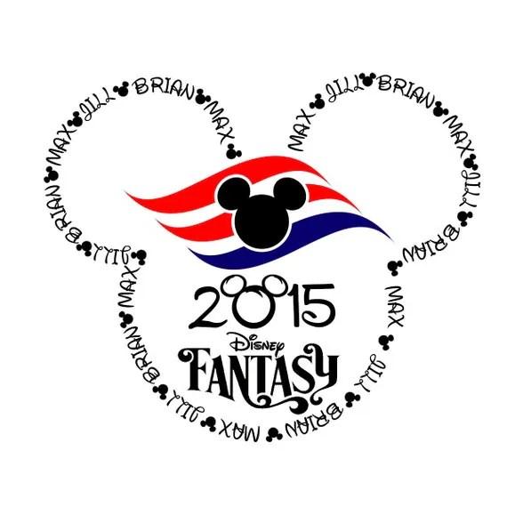 Disney Cruise Magnet Designs