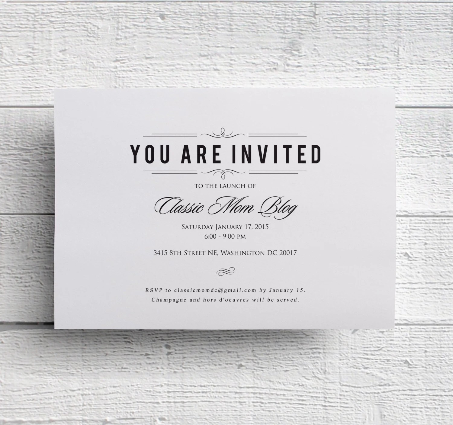 Corporate Event Invitation Template – Event Invitation Template