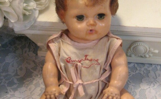 Vintage American Character Tiny Tears Baby Doll In Original