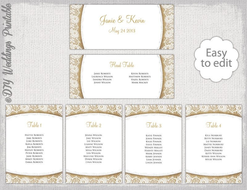 Seating Chart Templates Wedding Seating Chart Template Black
