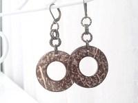 SALE Coconut Jewelry Coconut Earrings by 2BeBeadedBySana