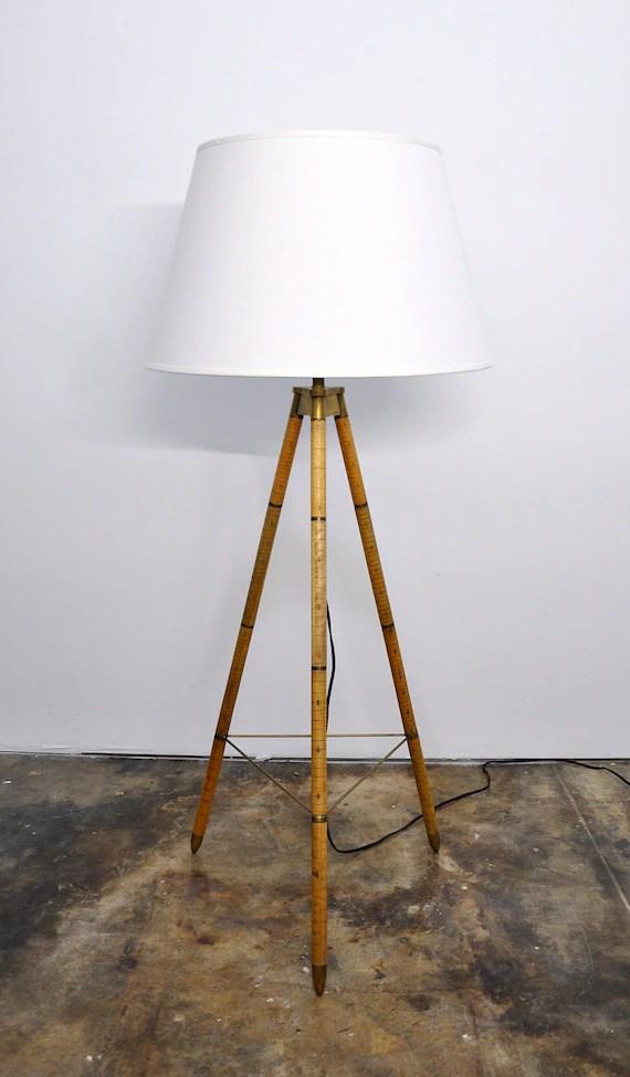 Vintage Ralph Lauren Floor Lamp Irwin Collection Minimalist