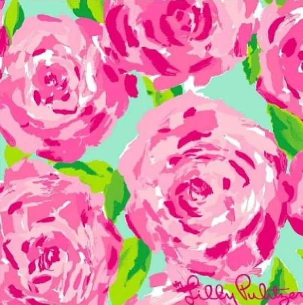 Fall Lilly Pulitzer Wallpaper Lilly Pulitzer First Impression Home Decor