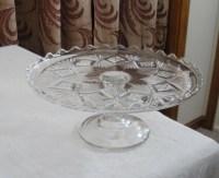 Antique Vintage Pedestal Cake Stand Pedestal Cake Plate