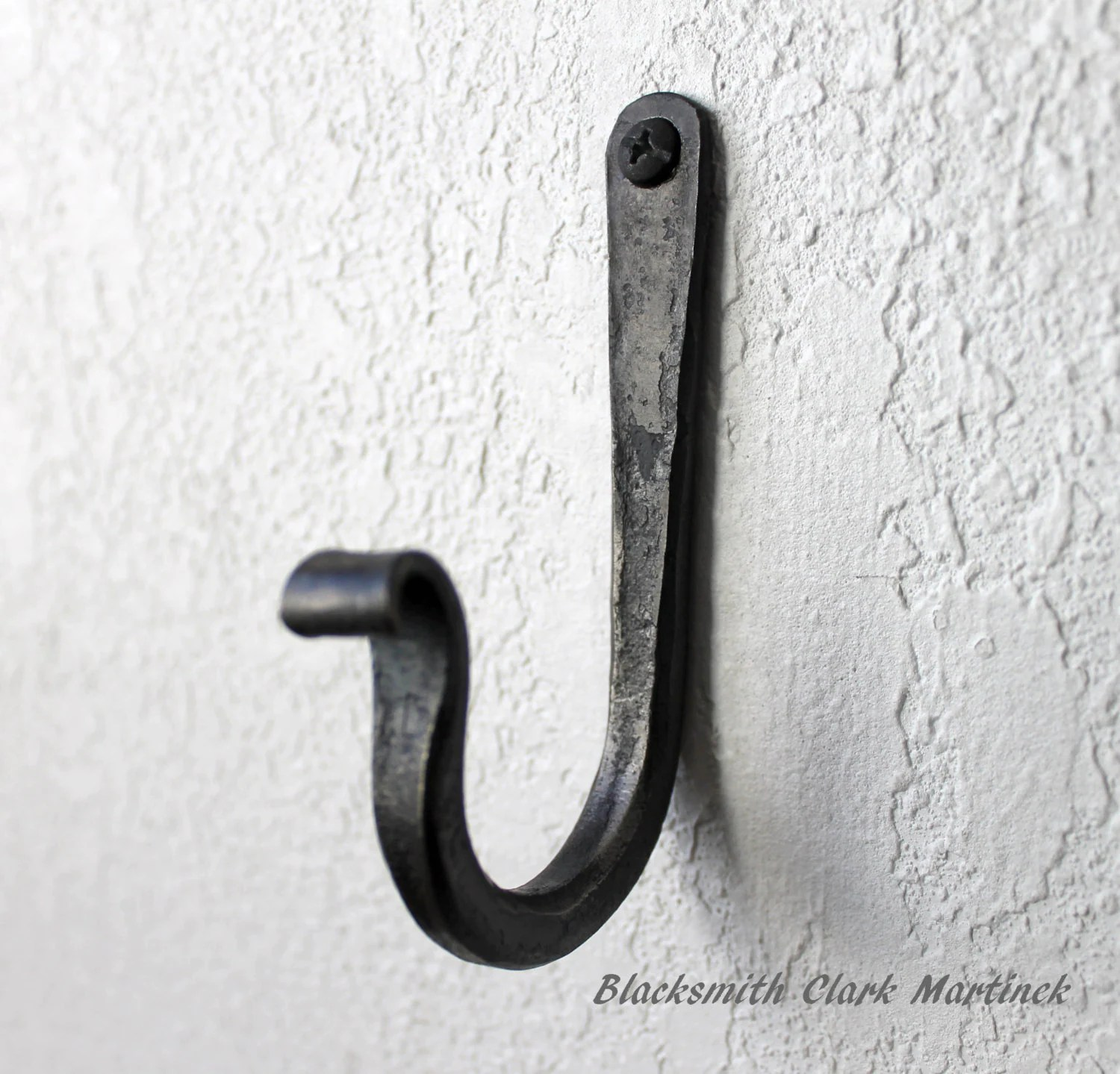 Black Hooks Rustic Coat Hook Towel Hook Black Metal Hook Strong