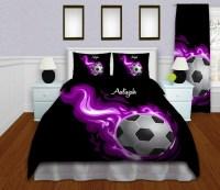 Soccer Bedding Personalized Soccer Duvet by ...