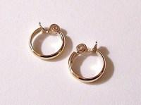 Monet Medium Hoop Clip On Earrings Gold by ...