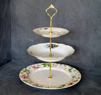 3 Tier Cake Stand Spring Cake Plate Tiered Cakestand