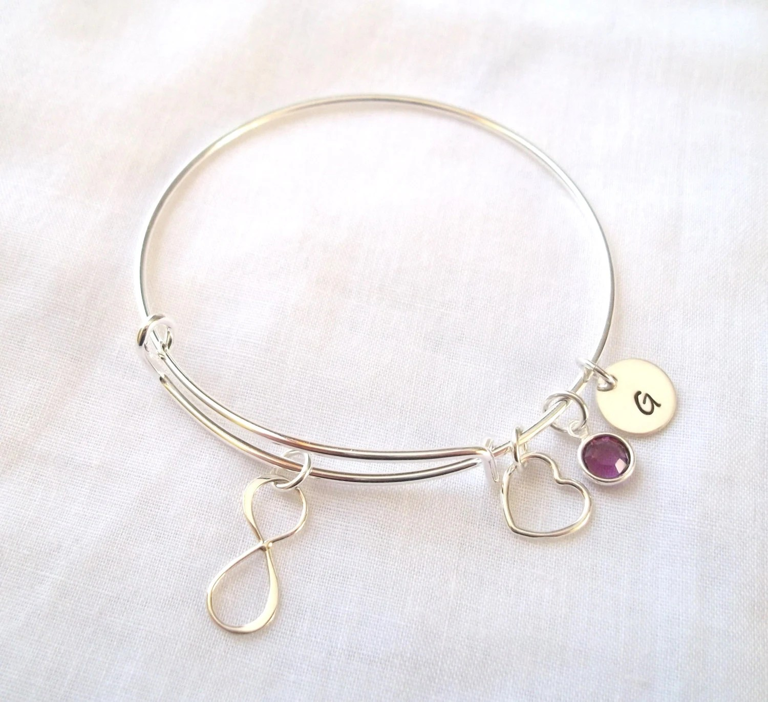Alex And Ani Style Infinity Bracelet By Theblueeyedbeader
