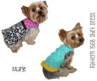 Dog Shirt Dress Pattern 1568 XXLarge Dog Clothes Sewing