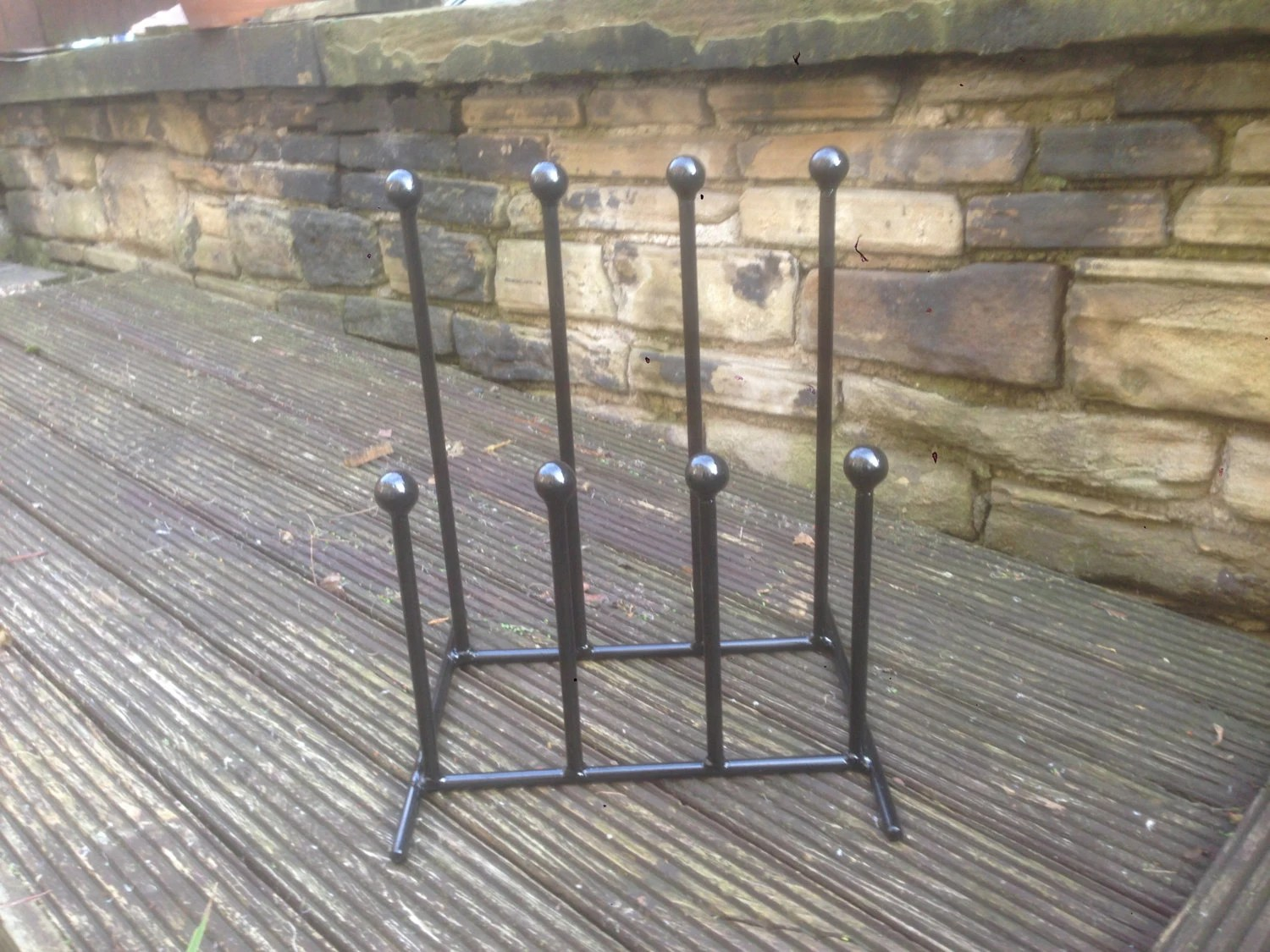 Wrought Iron Welded Family Adult Child 4 Pair By