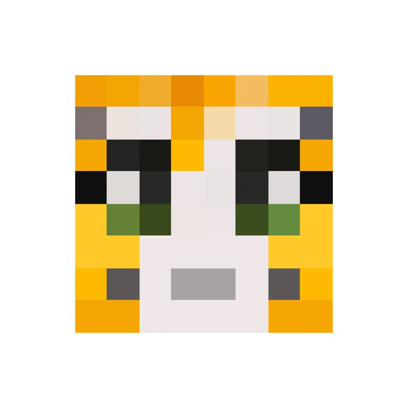 Minecraft Characters Faces Stampylongnose Face Wall Decal Available In A By