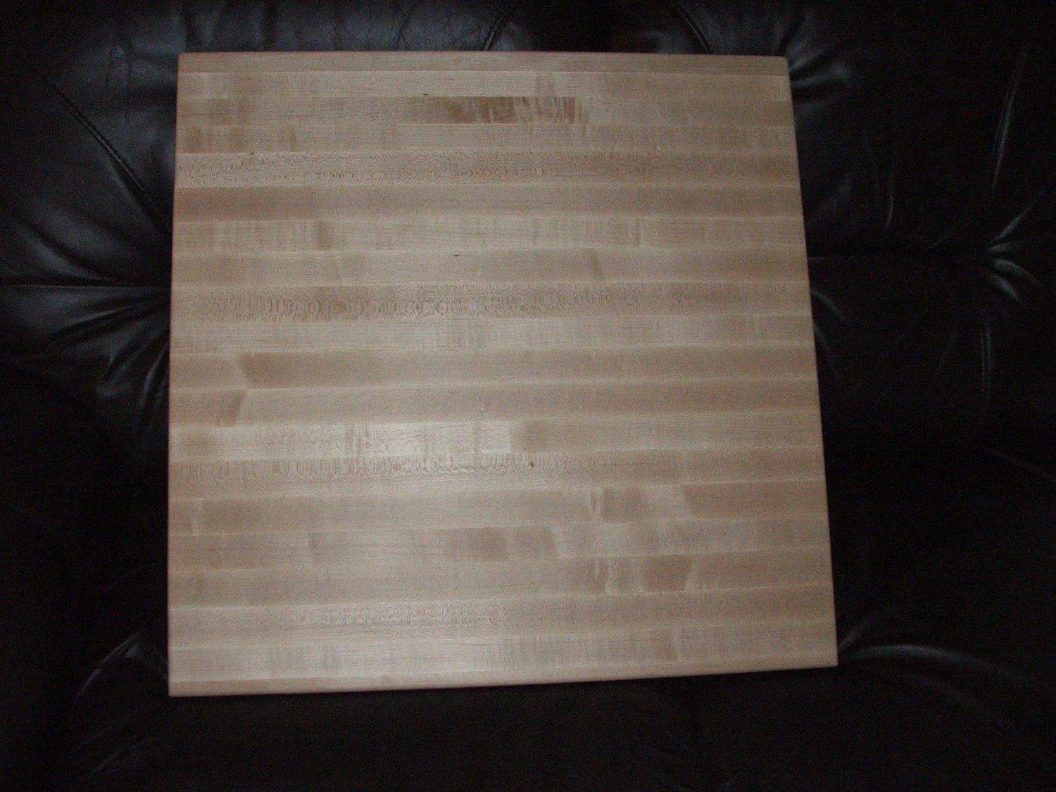 Plastic Cutting Board Countertop 24 X 24 X 2 Thick Hard Maple Cutting Board With Plastic Feet