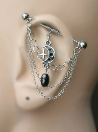 Industrial Barbell, Industrial piercing, Jewelry ...