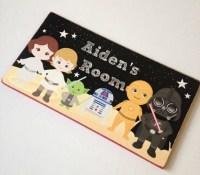 Children's Star Wars Bedroom Door Sign by ArabellaAndBeau ...