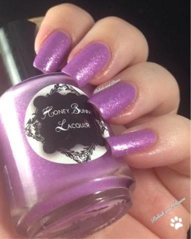 Boogie Nights Purple Glow In The Dark Nail Polish Indie