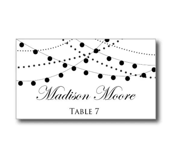Perfect Table Cards Template Word Ensign - Example Resume Ideas