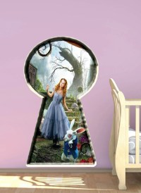 Alice In Wonderland wall sticker decal bedroom by ...