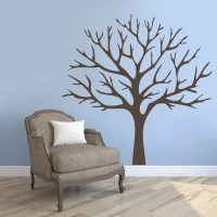 Winter Tree Trees and Branches Wall Decals