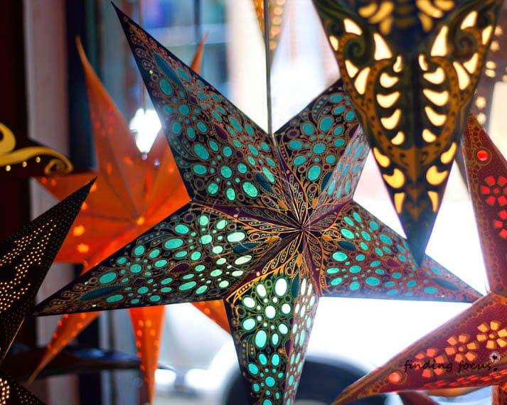 Photography Print Star Lantern Paper Lanterns Boho