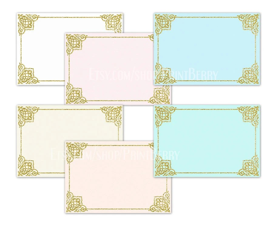Gold glitter envelopes 4x6 Envelopes Printable envelope template - 4x6 envelope template