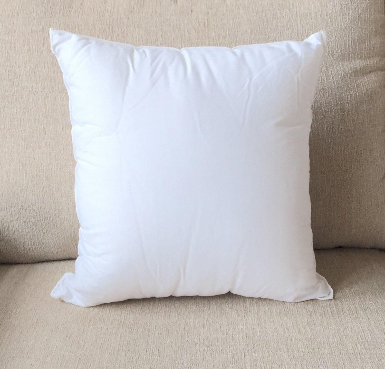 Pillow insert, cushion inserts, craft supplies, pillow