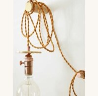 Bare bulb pendant | Etsy