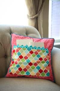 Pocket Pillow Travel Pillow Sleepover Pillow Gift Pillow