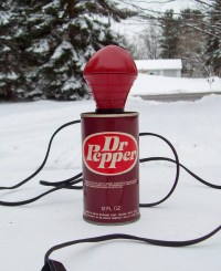 Vintage Dr Pepper Soda Pop Can Portable Lamp by ...