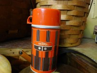 Red striped THERMOS