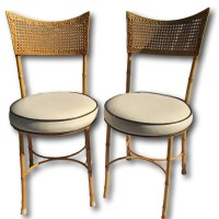 Bamboo Bistro Chairs | myideasbedroom.com