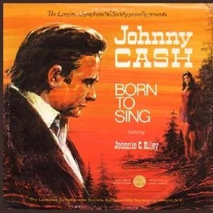 Johnny Cash Jeannie C. Riley Born To Sing 5 Disc Set