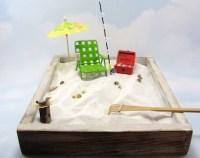 miniature zen beach garden kit 2 miniature by ScrapwoodStudio