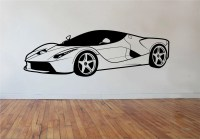 Sports car Wall Decal Version 2 Vinyl Sticker Art Decor